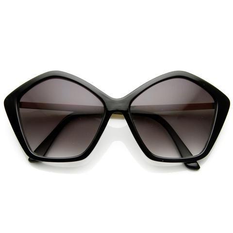 8207f3844f Women s Pentagon Oversize Fashion Sunglasses 8908