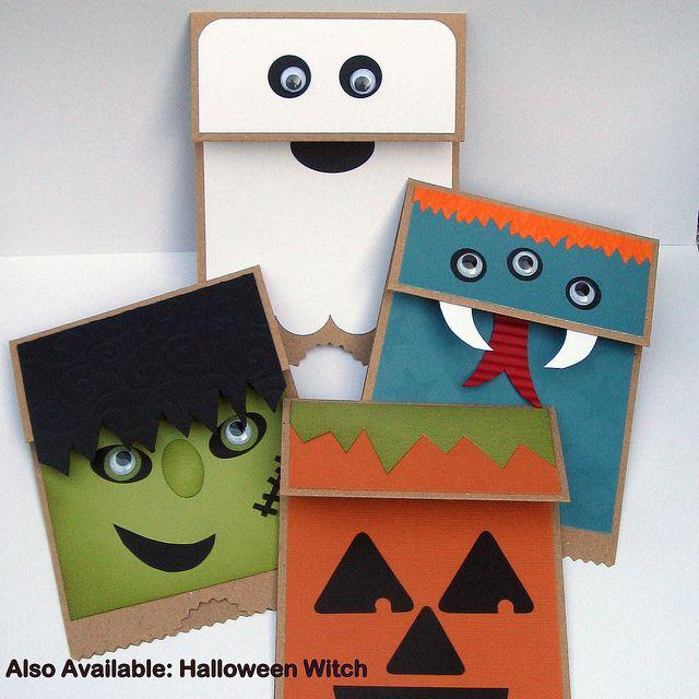 Halloween Paper Bag Puppet Halloween Pinterest Paper Bag