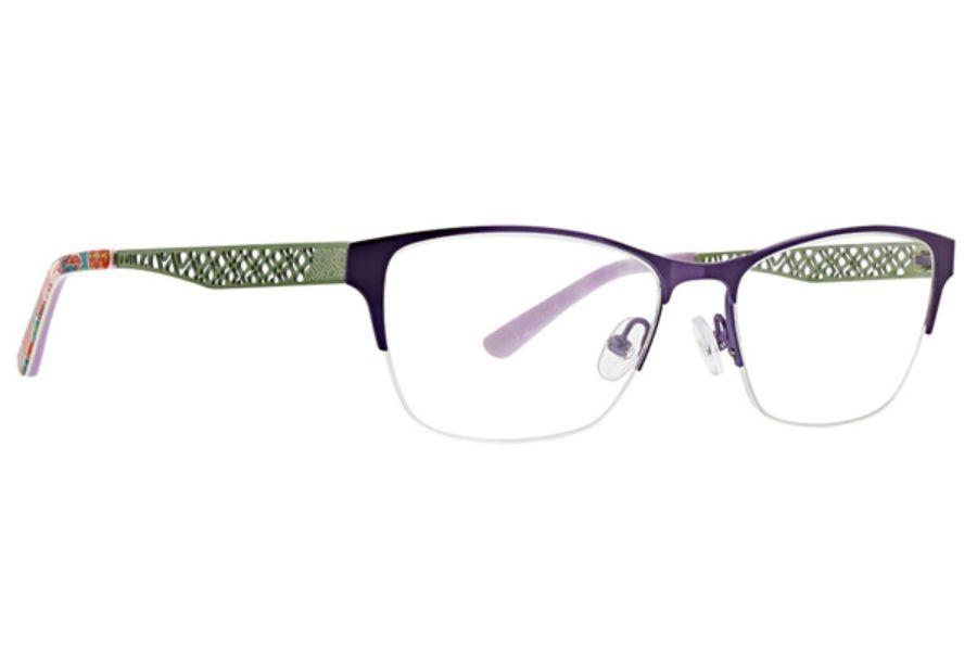68e5b778dc8 Vera Bradley VB Fern Eyeglasses in Paisley In Paradise