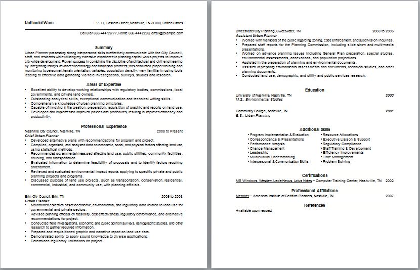 Urban Planner Resume Resume Objective Statement Examples Good Objective For Resume Resume Objective Statement