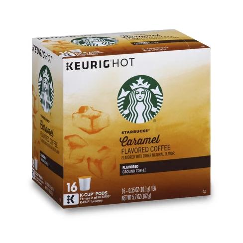 Starbucks Caramel Flavored Medium Roast Coffee Keurig K