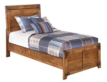 Delburne Collection Brown Twin Panel Bedstead Panel Bed Headboards For Beds Ashley Furniture