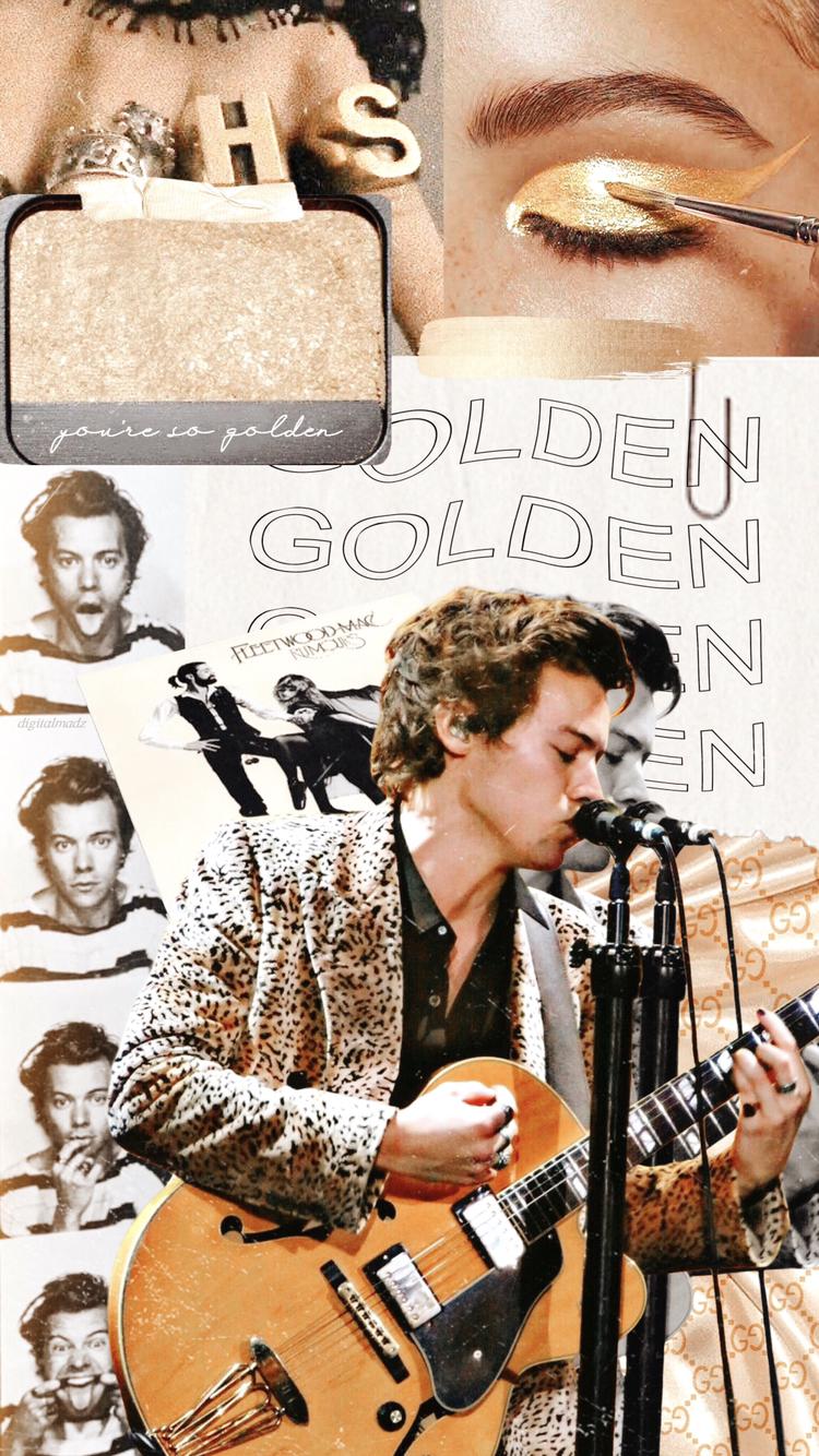 Golden 2 0 In 2020 Harry Styles Wallpaper Harry Styles Poster Harry Styles Lockscreen