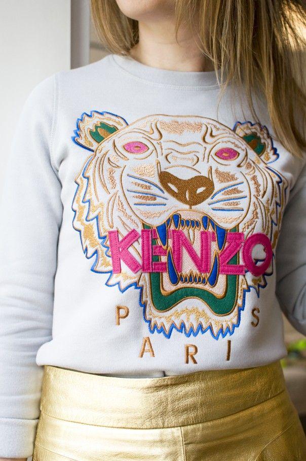 Ready FemmePull To Kenzo 2018 Ss WearSweat lF1TJcK3