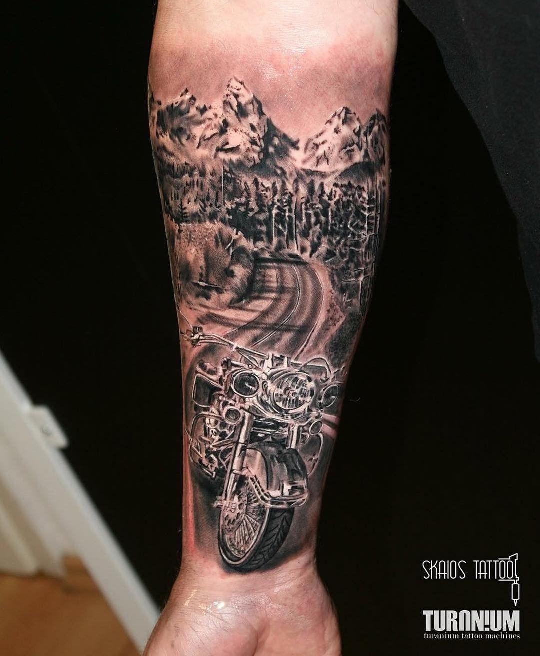 Best biker tattoo designs 125 harley davidson tattoos