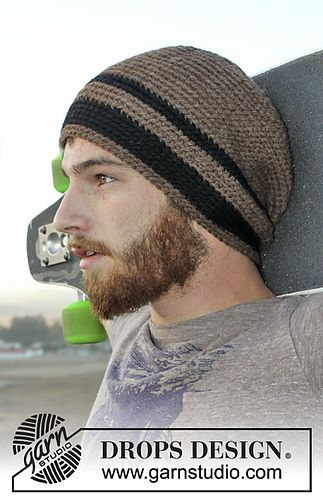 men\'s hat free crochet pattern | in my queue | Pinterest | Free ...