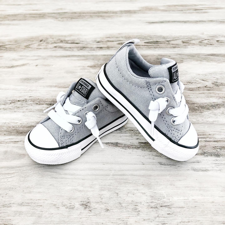 Street Slip Toddler Low Top Wolf Grey