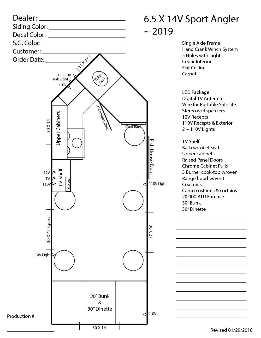 Pin On 6 5 Wide Floor Plans