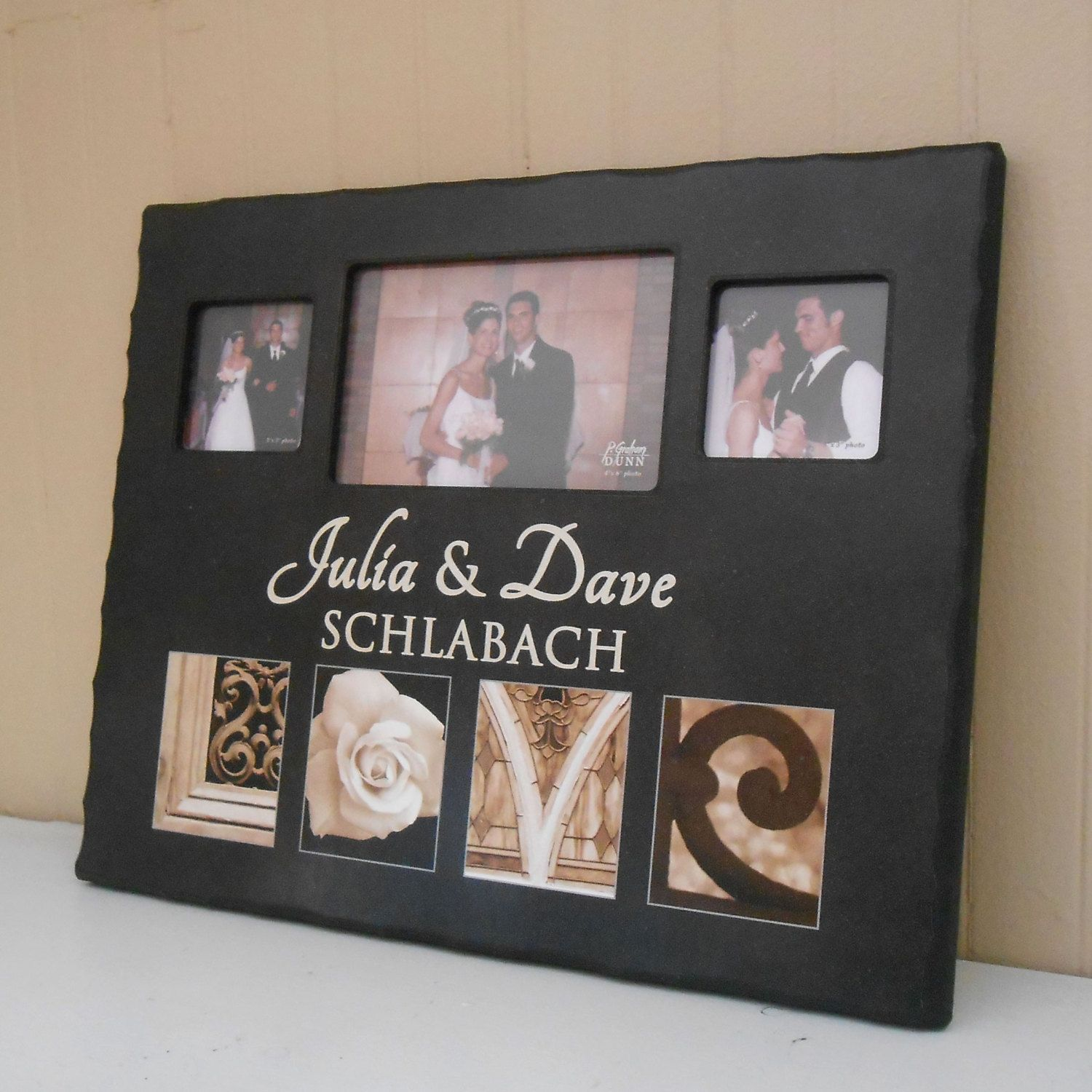 2 Personalized LOVE Photo Collage Frame by LifetimeCreations | Gift ...
