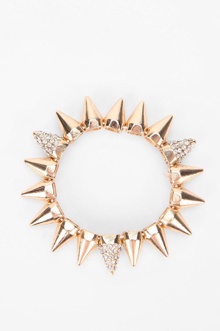 Solar Spike Bracelet