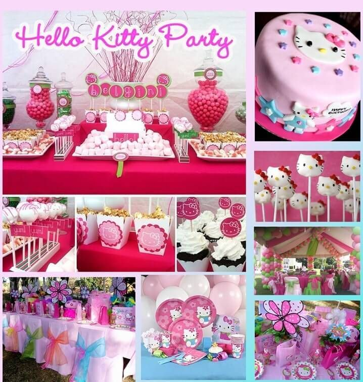 Hello Kitty Baby Shower Theme and Decorations for Baby