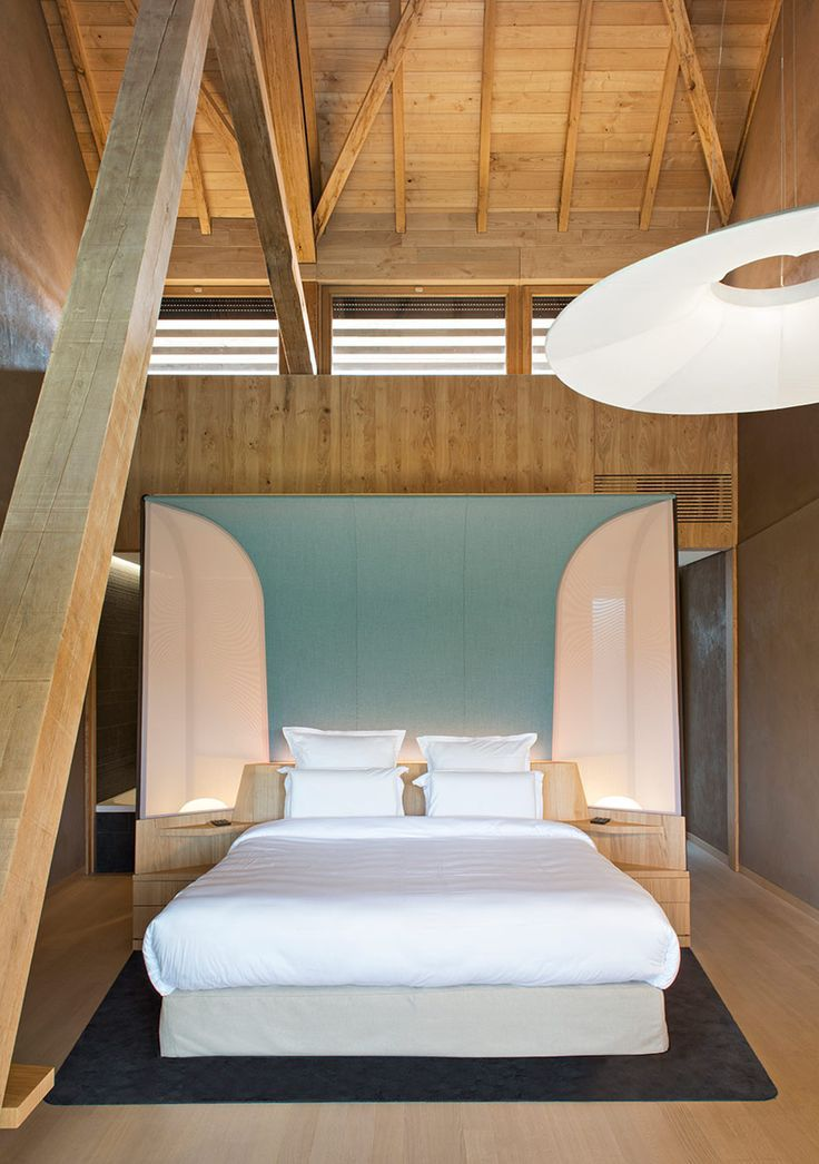 Jouin Manku Envisions Hotel Des Berges And Spa For Rest And Relaxation Interior Design Luxury Apartments Interior Architecture