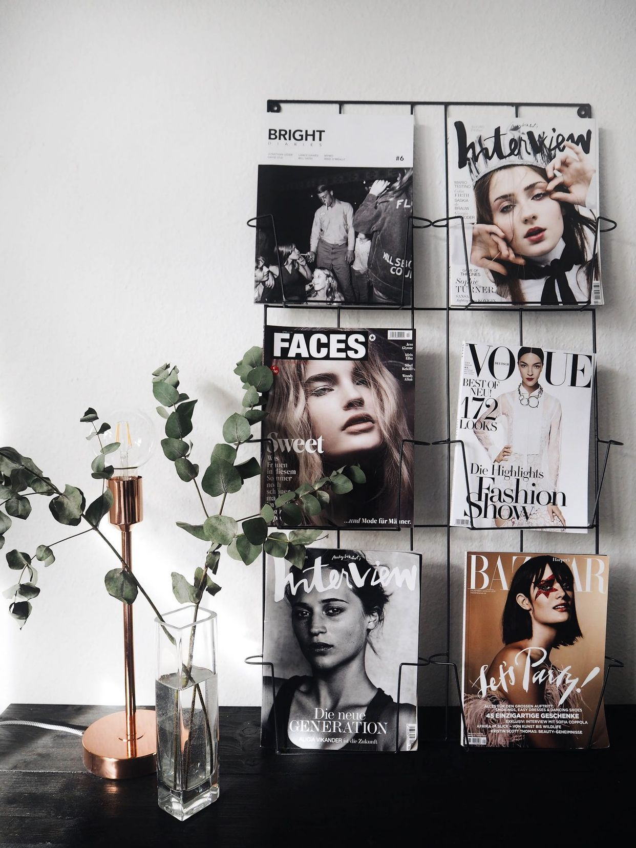 6 Creative Ways To Display Magazines The Edit Creative Home Decor Creative Decor Unique Home Decor