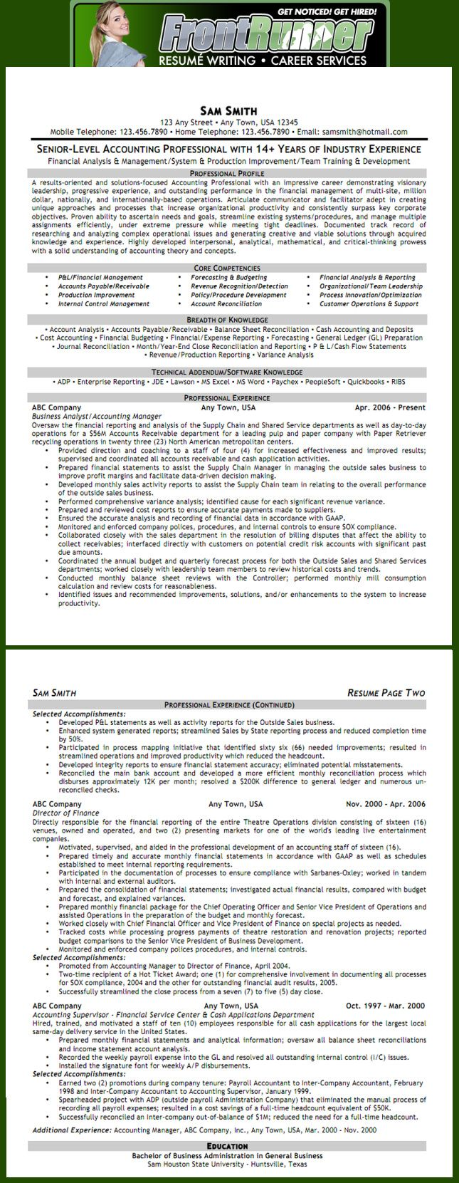 Plant Accountant Sample Resume Delectable Resume  Senior Accounting Executive  Professional Resume .