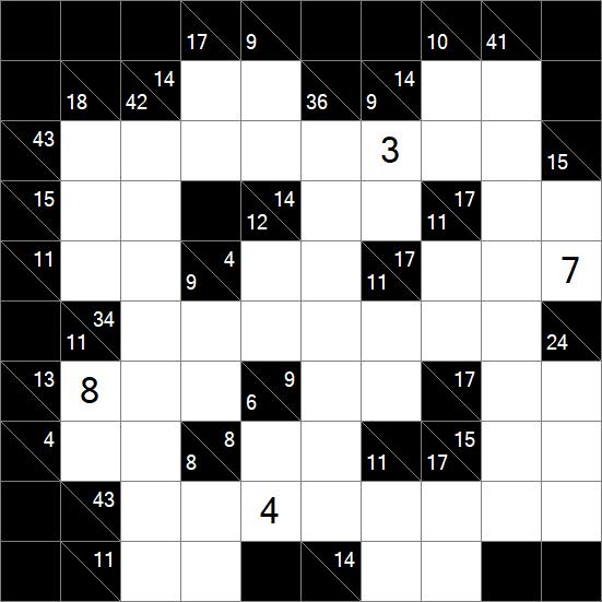 graphic relating to Kakuro Puzzles Printable identify Kakuro 10x10 Kakuro Puzzles Kakuro Printable puzzle jigsaw