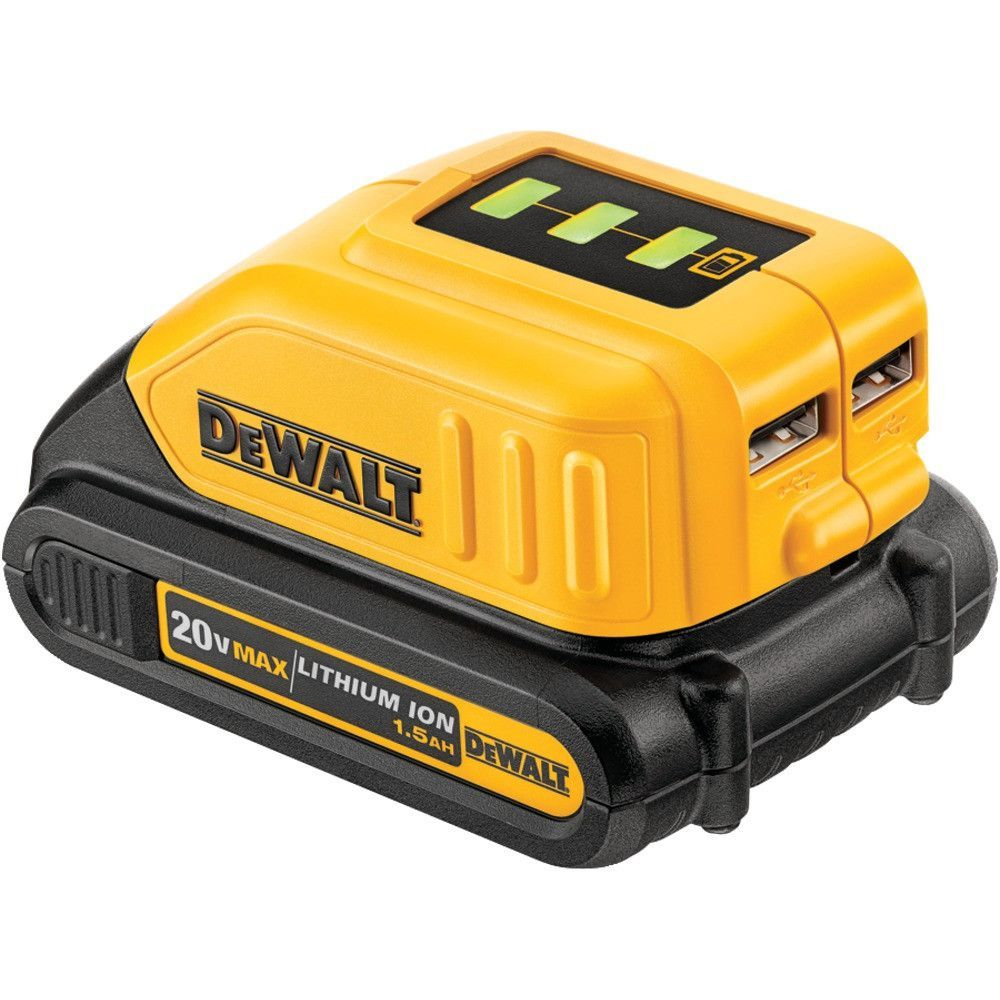Dewalt 12-volt And 20-volt Usb Power Source
