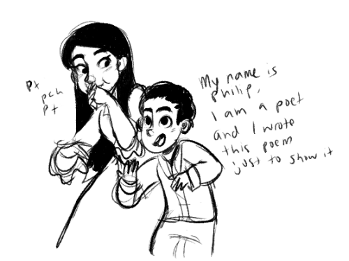 mmabelpines: i doodled this part rly fast bc iTS THE