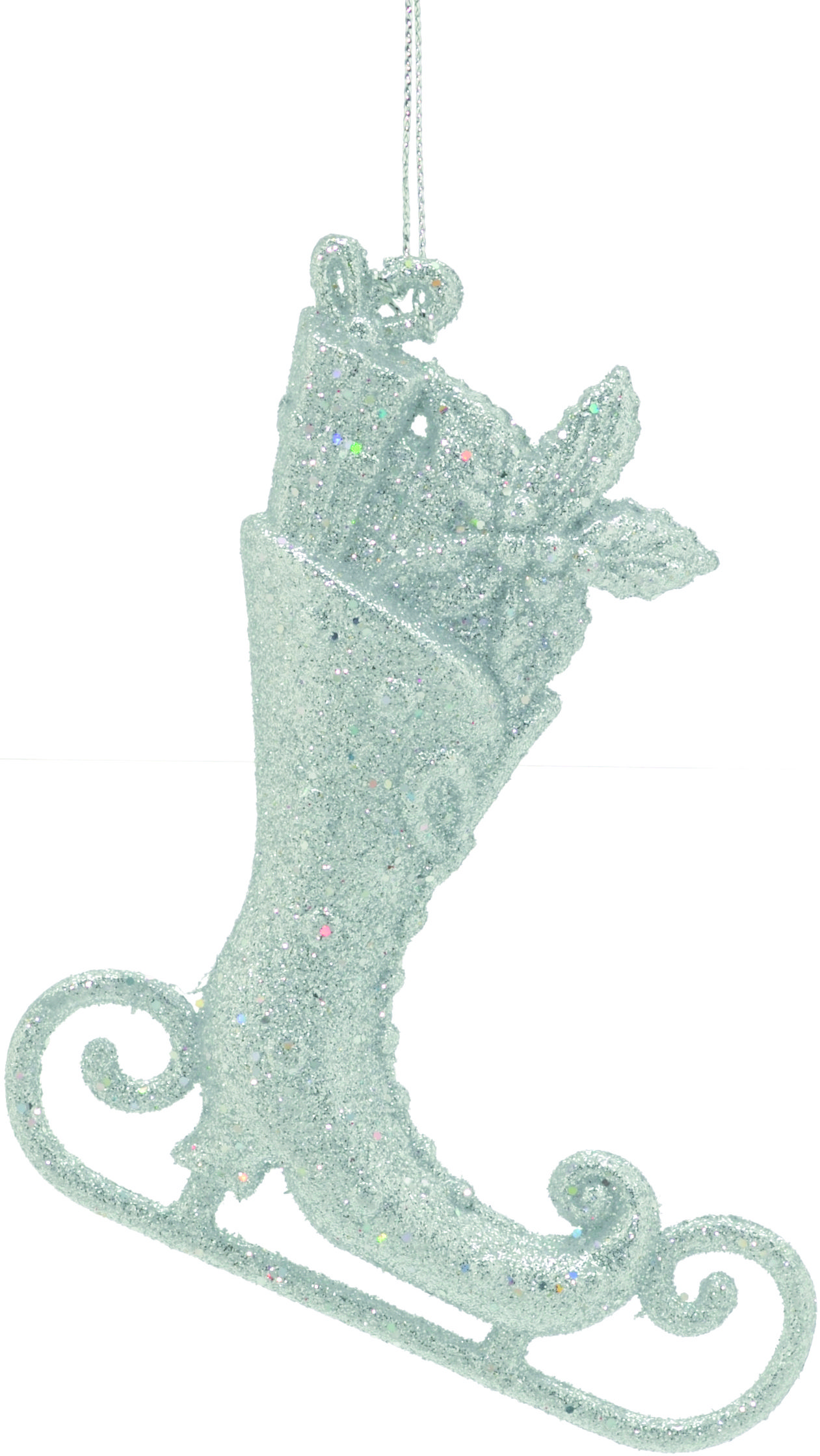 Silver Glitter Ice Skate Tree Decoration #ukchristmasworld #barnsley #christmas #decoration #festive #hanging #christmastree #display http://www.ukchristmasworld.com/Shop/Christmas-Tree-Decorations/Christmas-Tree-Decorations/5130-Silver-Glitter-Ice-Skate-Tree-Decoration.html