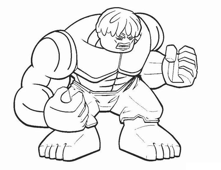 Lego Hulk Coloring Pages Hulk Coloring Pages Lego Coloring Pages Avengers Coloring Pages