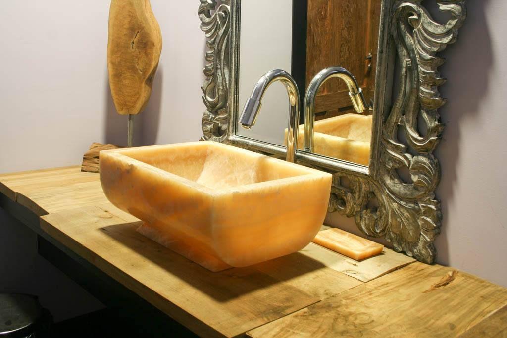 los lavabos de piedra natural son piezas nicas con mucha personalidad atrvete con ellos y sern el centro de atencin de tu bao o cocina - Lavabos Originales