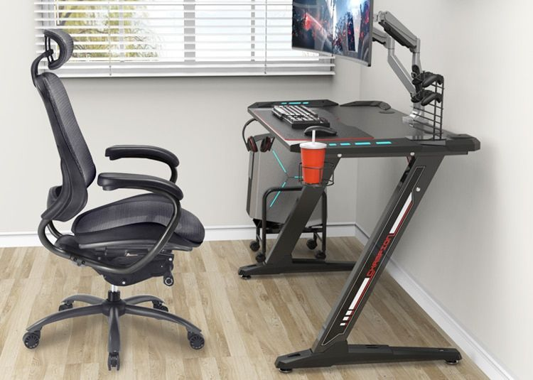 Sensational Start From The Ground Up With A Eureka Gaming Desk The Machost Co Dining Chair Design Ideas Machostcouk
