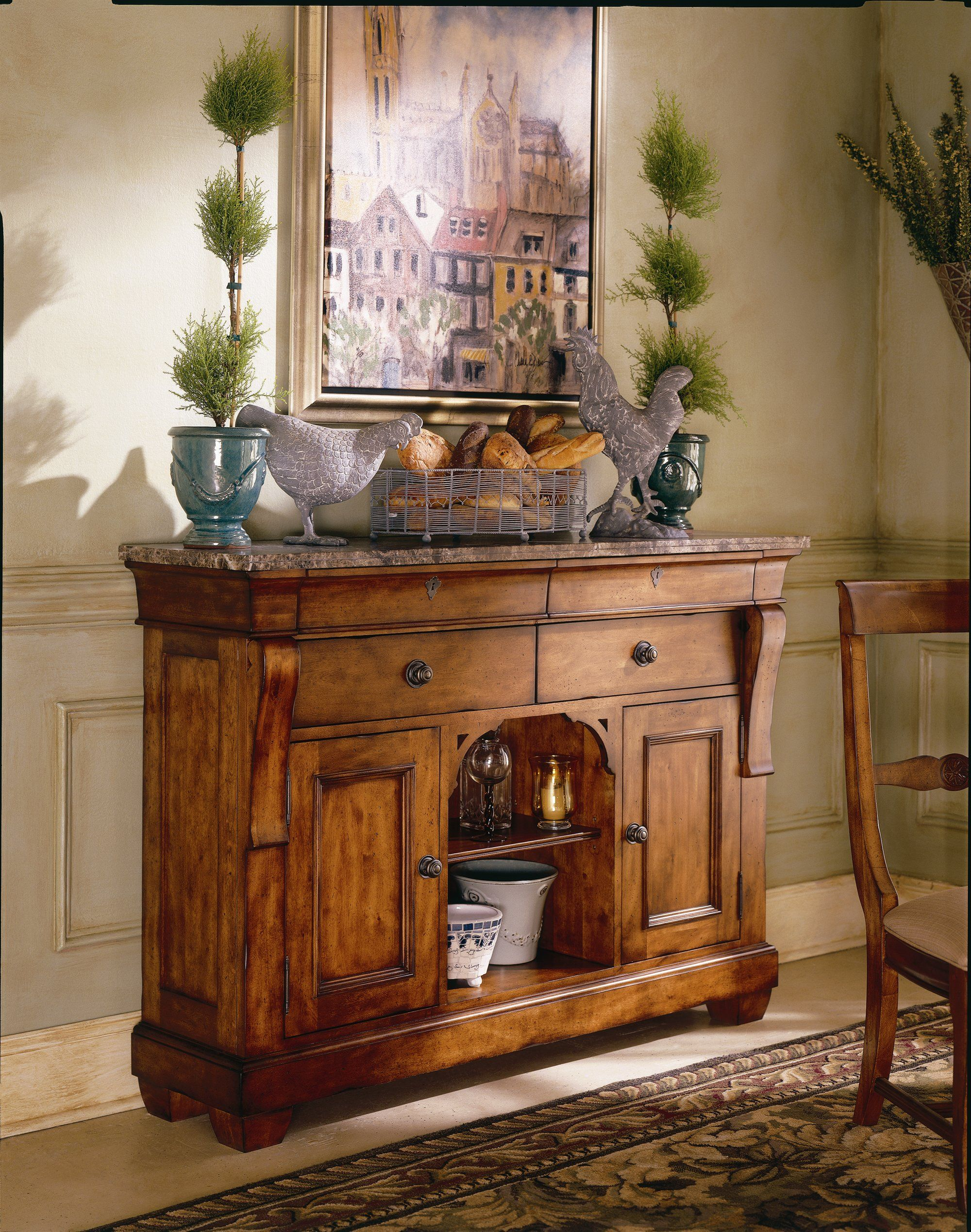 The Sideboard Plays An Important Role In The Establishment Of Many
