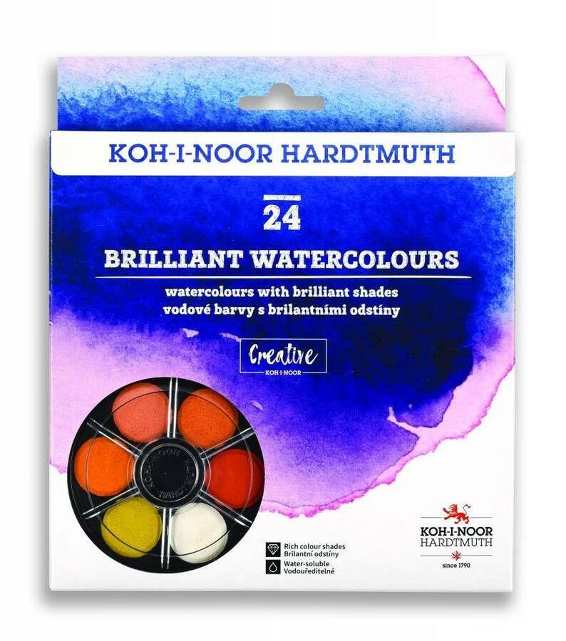 Details About Brilliant Dye Based Vibrant Watersoluble Paint Set