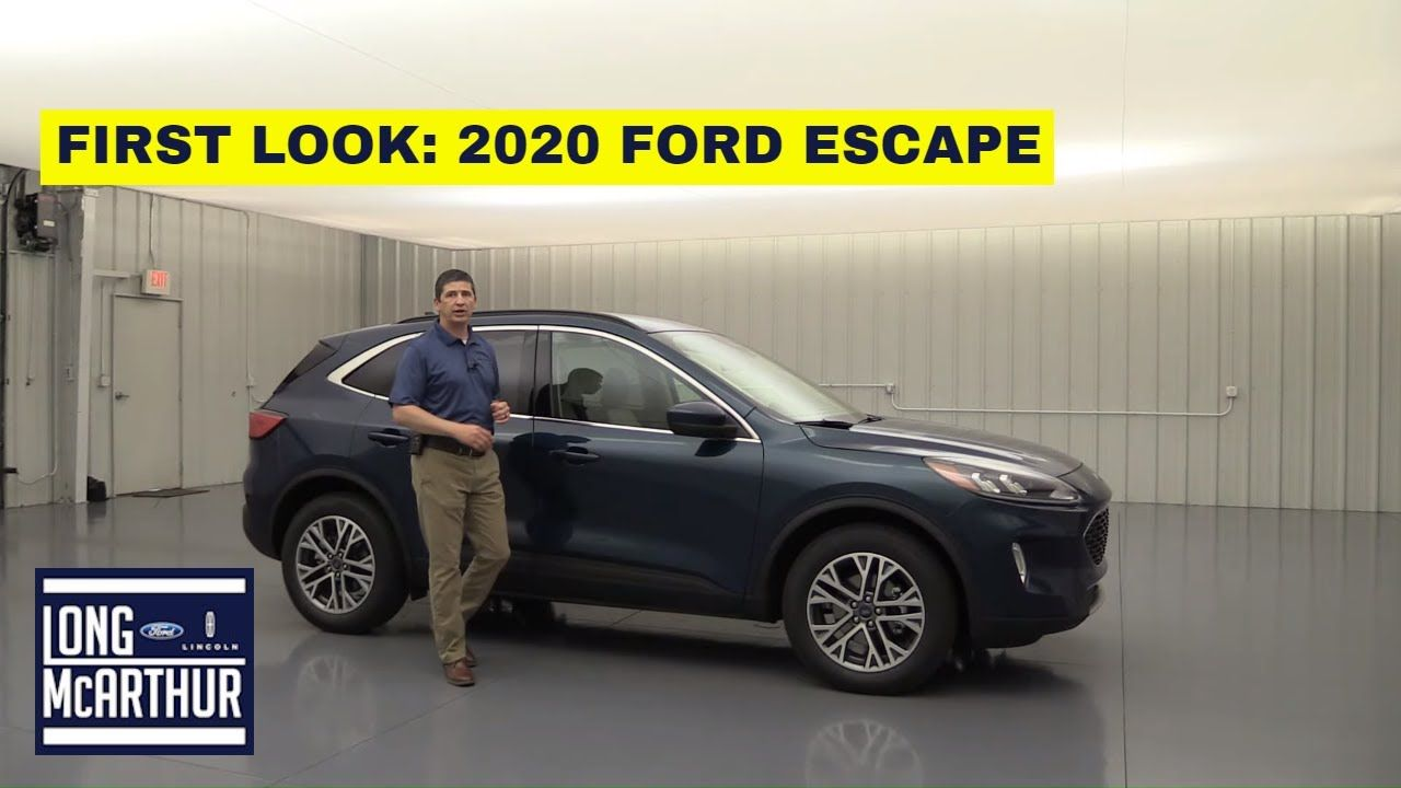 2020 Ford Escape 10 New Things You Need To Know Youtube Ford