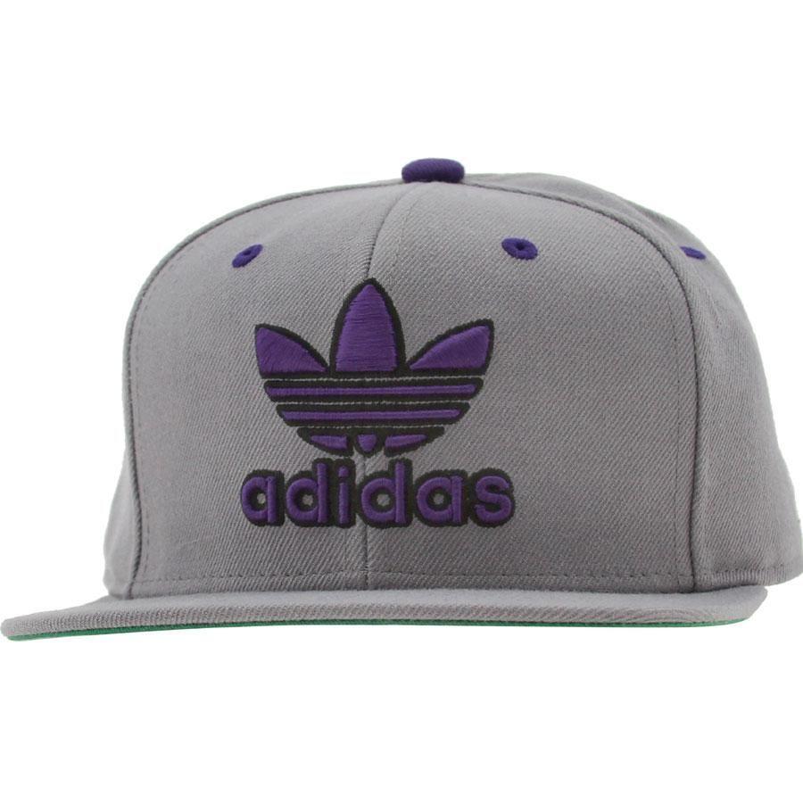 c38eda291371a Adidas Thrasher Snapback Cap (grey   purple) Q18130 -  23.99 ...