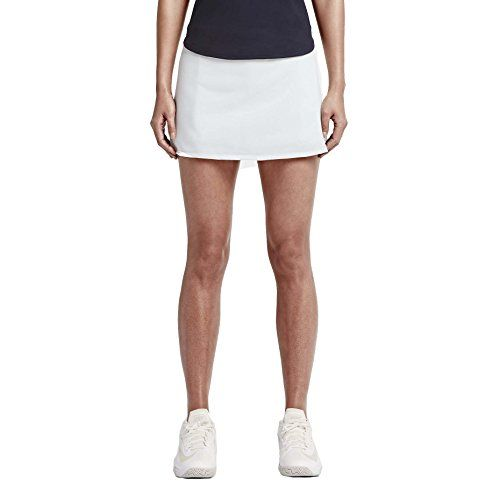 Nike Womens DriFit Nikecourt Baseline Tennis SkirtSummit WhiteXL *** Continue to the product at the image link.