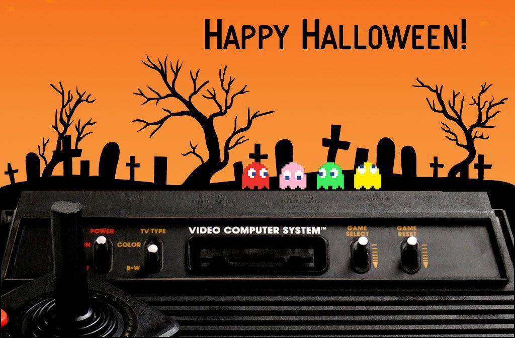 Happy Retro Gaming Halloween Retro video games, Retro