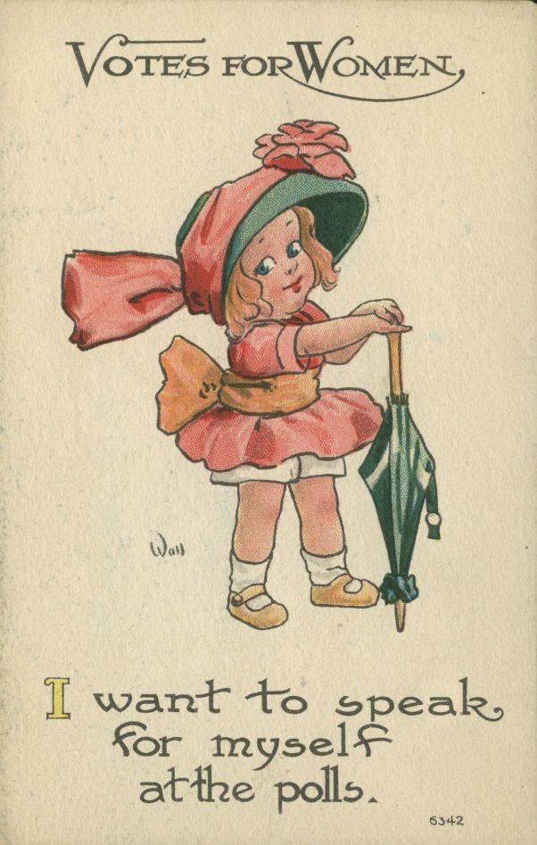 Votes For Women 7 Vintage Suffrage Valentines Women Right To