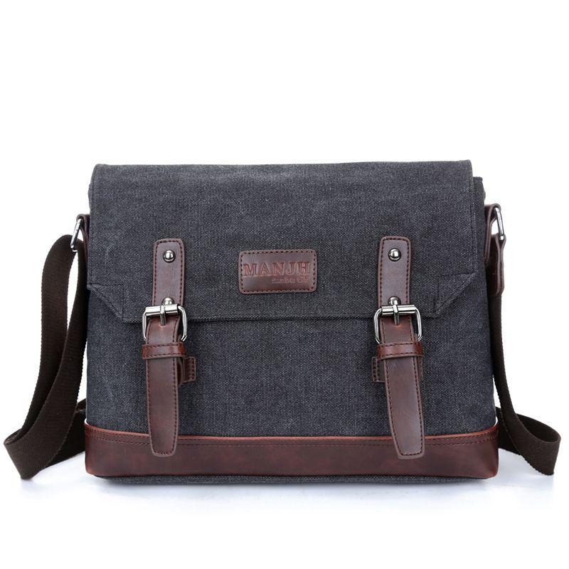 e42d17f50e High quality business top selling canvas messenger bags men ...