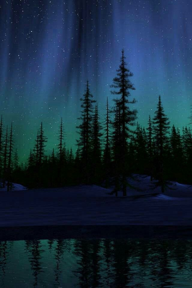 Pin by Harris on God's handy work ️ Northern lights