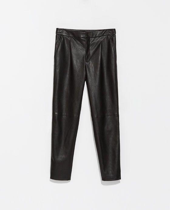 pantalon femme zara basic