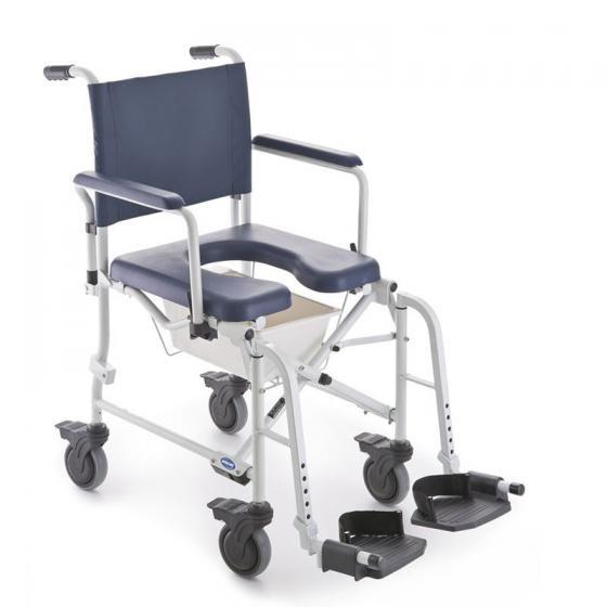 """Invacare Lima 5"""" (Douche Toilet Rolstoel Shower and"""
