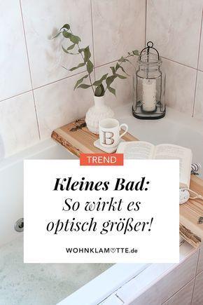 Kleines Badezimmer: Mit diesen 5 Tipps wirkt es sofort größer