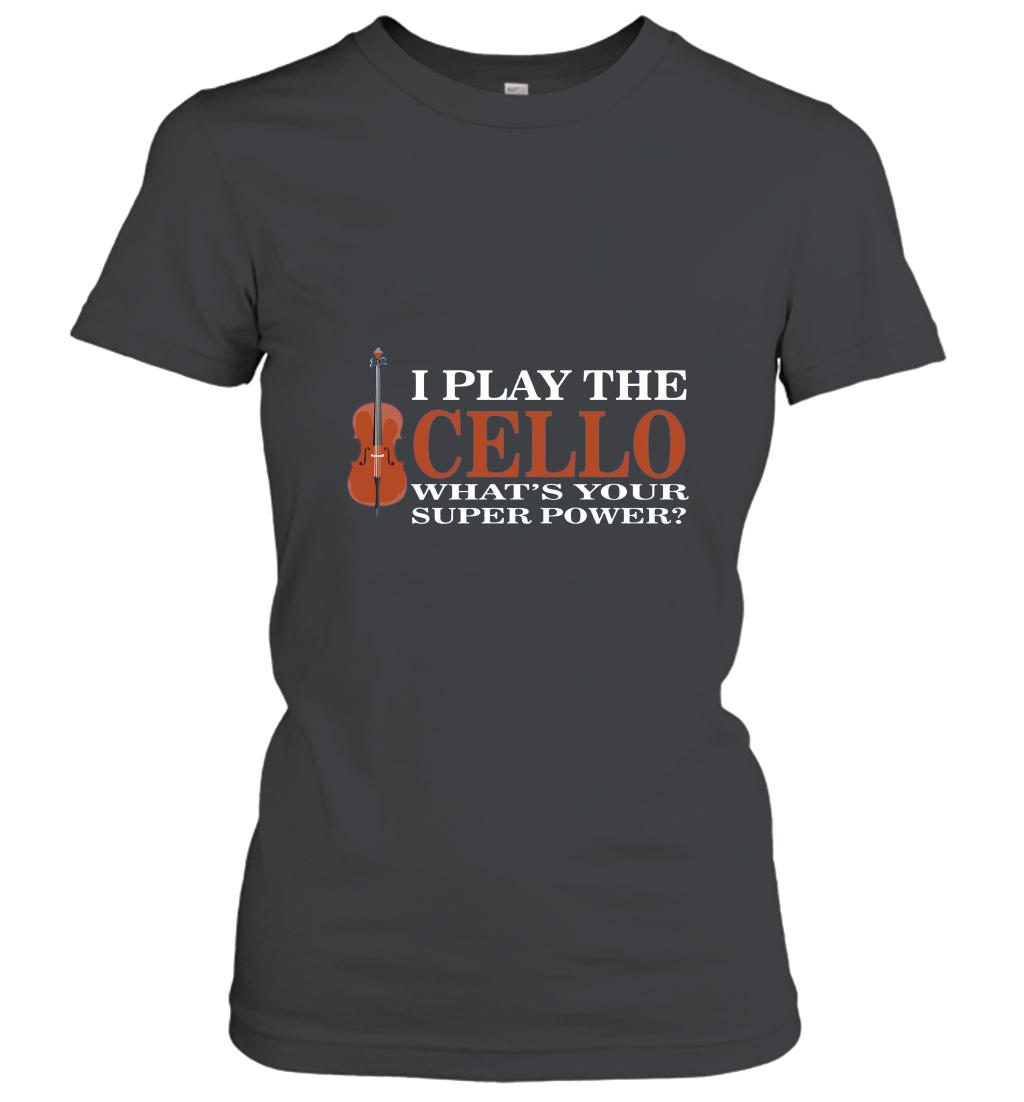 Cello Shirt Cello Music T Shirt Gift Women T-shirt