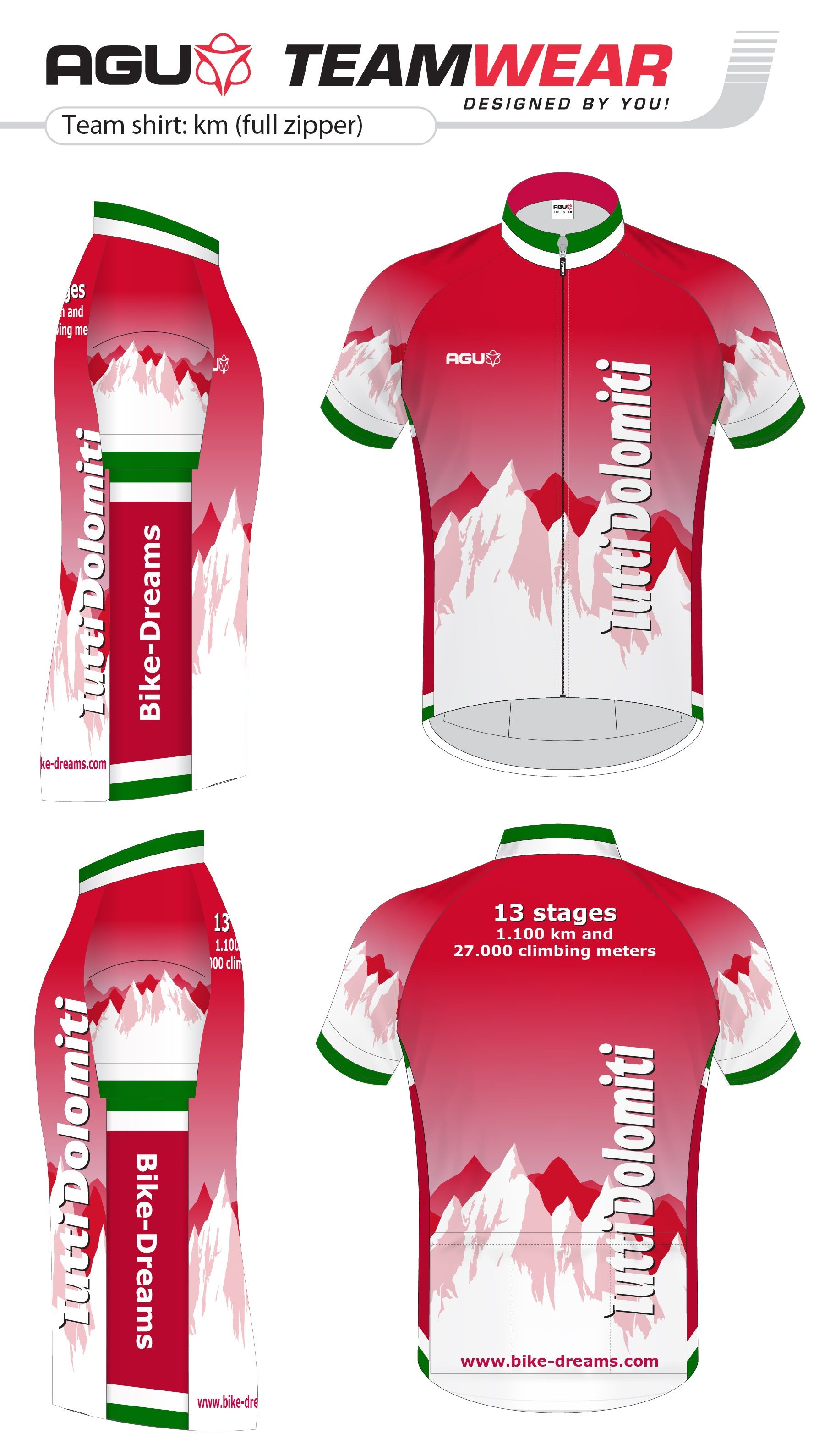 Cycling shirt design your own - Design Your Own Cycling Jersey By Agu Customized Cycling Apparel Designed For Bike