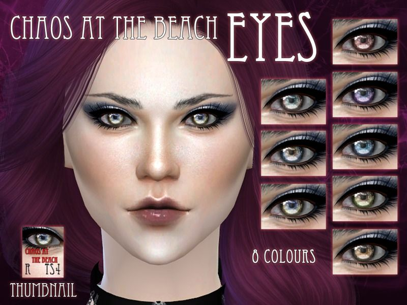 My favourite creation for the sims 3, redone for the sims 4 ^_^  Found in TSR Category 'Sims 4 Female Costume Makeup'