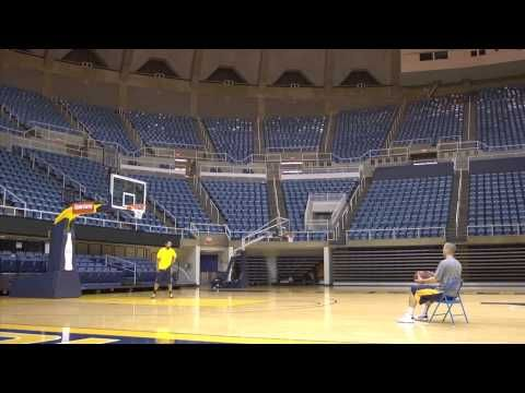 They Still Have It Watch Former Men S Basketball Players Alex Ruoff And Da Sean Butler Hit Some Amazing Trick Shots At Wvu Basketball Trick Shots Basketball