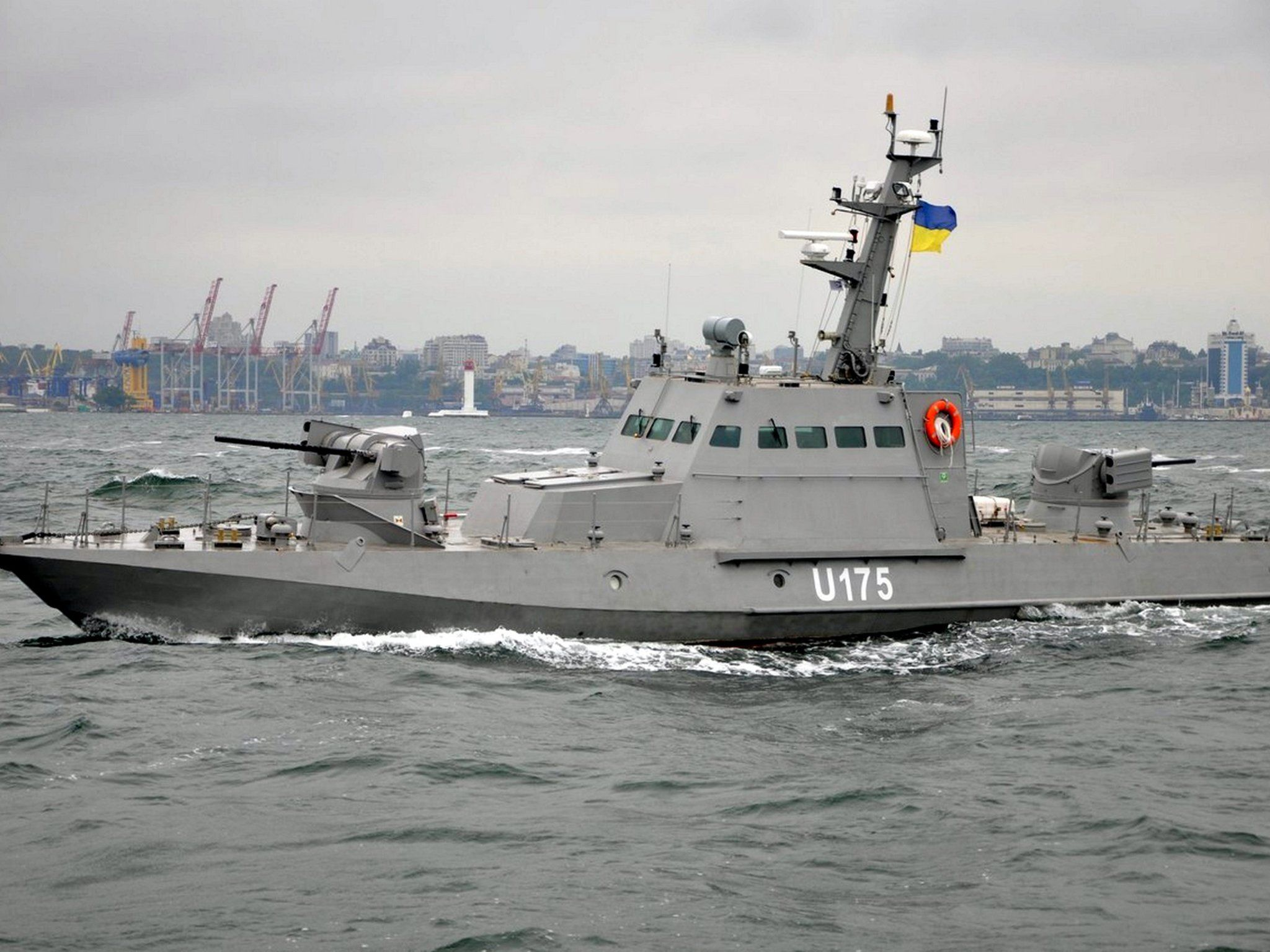 Crimea Three Ukraine Navy Boats Captured By Russian Forces