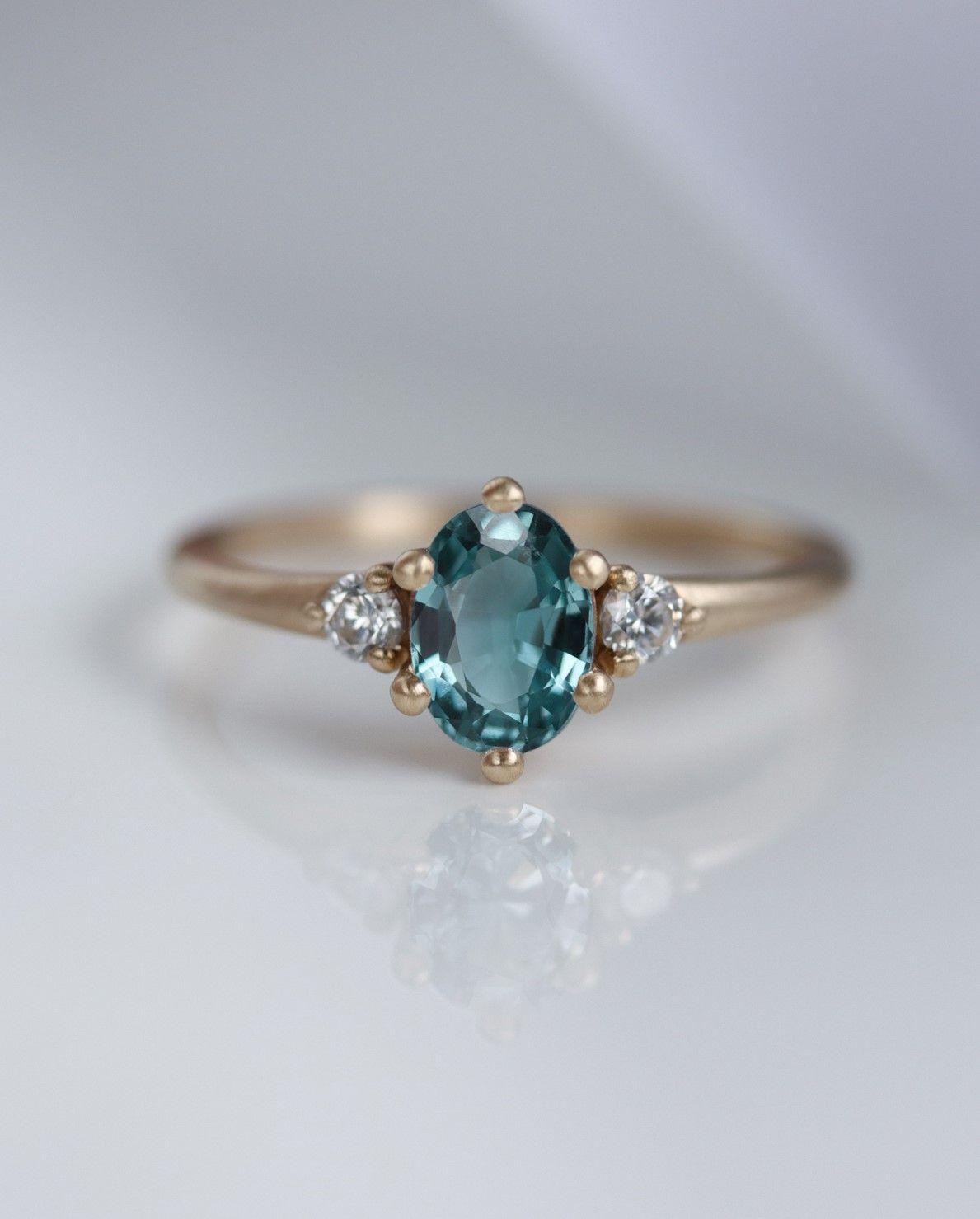 Three Stone Green Cushion Cut Diamond Ring  Bride/'s Wedding Diamond Ring  Proposal Diamond Ring For Girls  Happy Birthday Diamond Ring