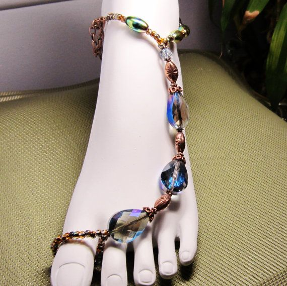 Treasures from the Earth and the Sea Barefoot Sandal