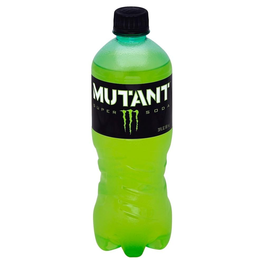 Monster Mutant Super Soda Energy Drink 20 fl oz Bottle