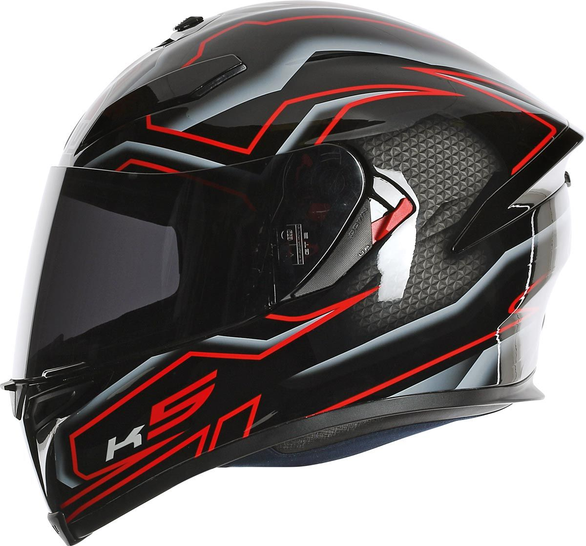 agv k 5 l 39 int gral sur quip en version 2015 iron horse pinterest casque integrale. Black Bedroom Furniture Sets. Home Design Ideas