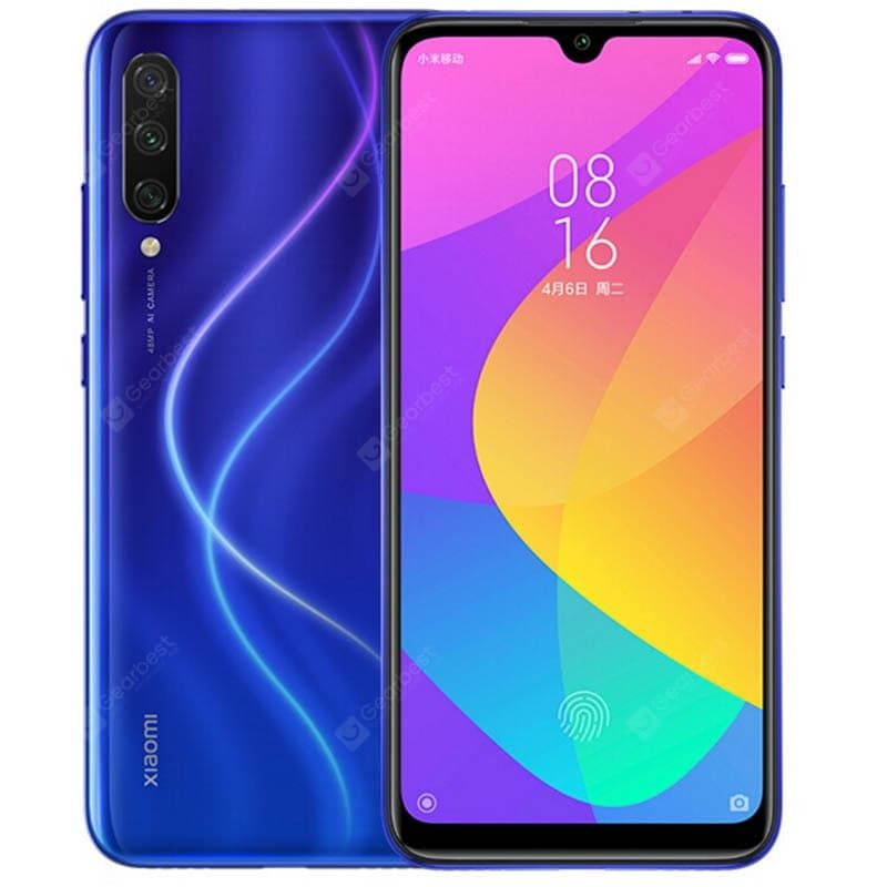 Xiaomi Mi A3 Blue Cell Phones Sale Price Reviews Gearbest Phablet Xiaomi Android One