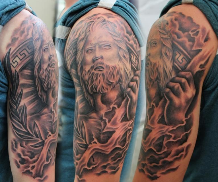 Zeus Tattoo Art - Google Search