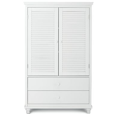 Louvered Storage Armoire - jcpenney | Tall cabinet storage ...