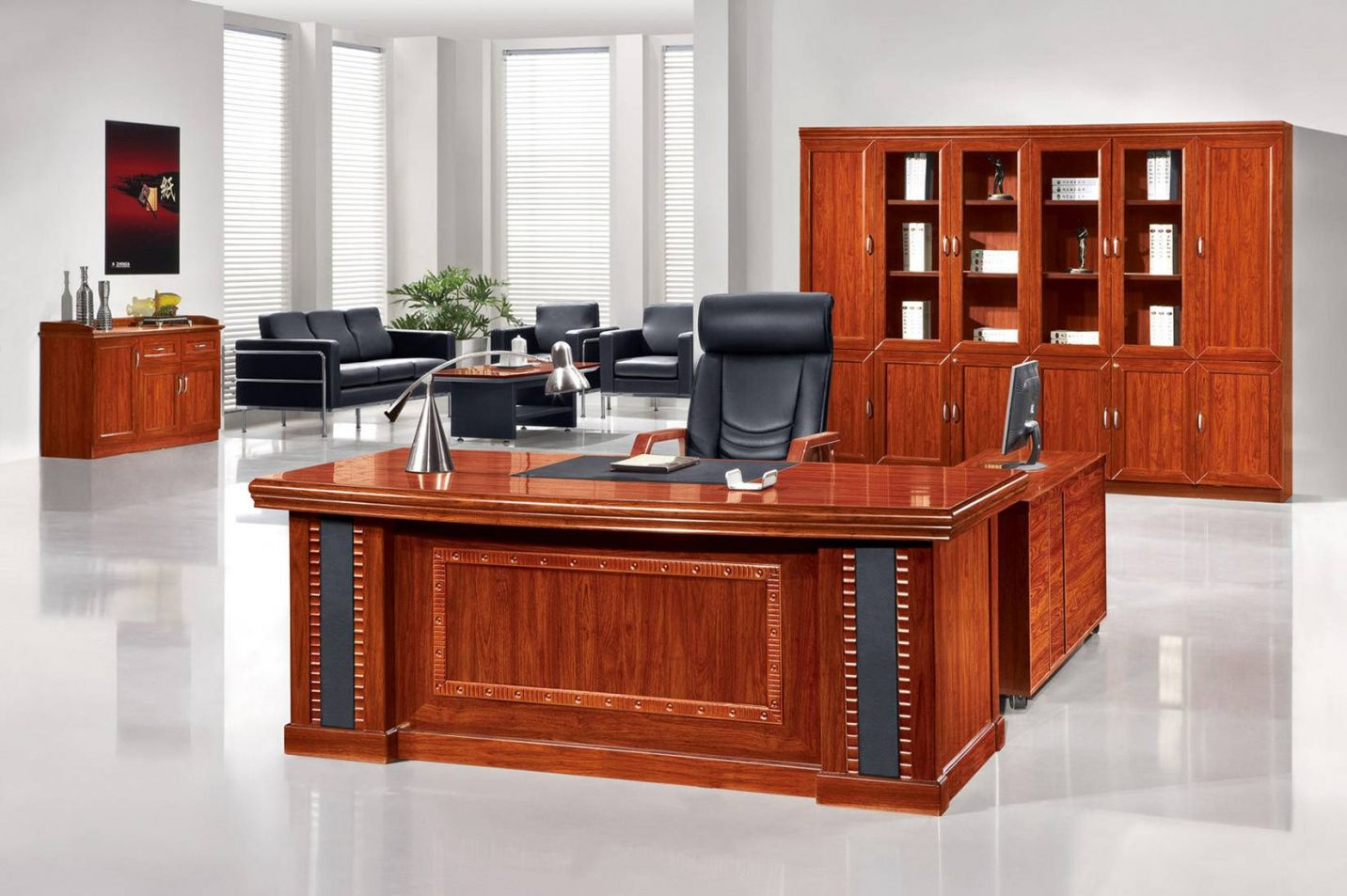 wood desk office home office furniture set check more at http rh pinterest co uk office wooden furniture hs code white wooden office furniture